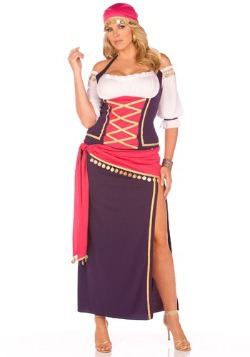 Gypsy Maiden Plus Size Costume