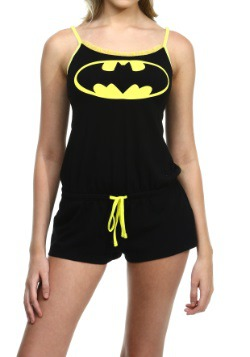 Batman Sleeveless Romper