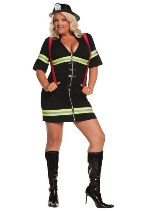 Sexy Firegirl Plus Size Costume