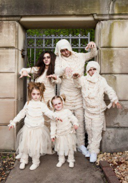 Plus Size Men's Mummy Costume 3