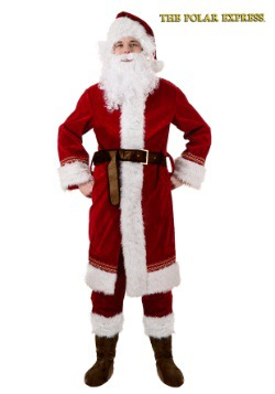 Polar Express Santa Costume For Adults