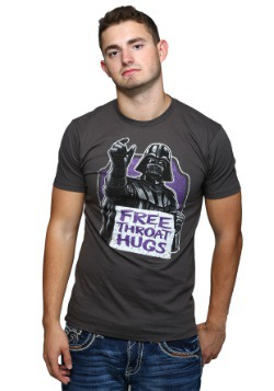 Star Wars Throat Hugs Charcoal T-Shirt