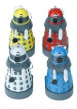 Doctor Who Colored Dalek Light Set 2