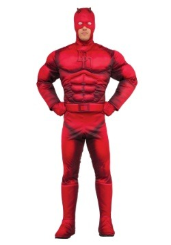Deluxe Daredevil Mens Costume
