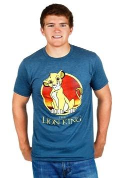Mens Lion King Simba Circle T-Shirt