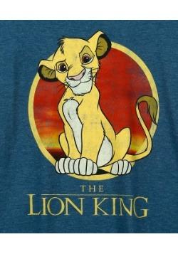 Mens Lion King Simba Circle T-Shirt1