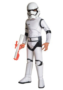 Child Super Deluxe Star Wars Episode 7 Stormtrooper Costume