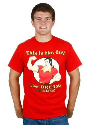 Beauty And The Beast Gaston Dreams Come True T-Shirt