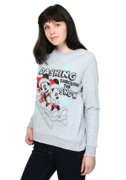 Mickey & Minnie Sleigh Ride French Terry Pullover