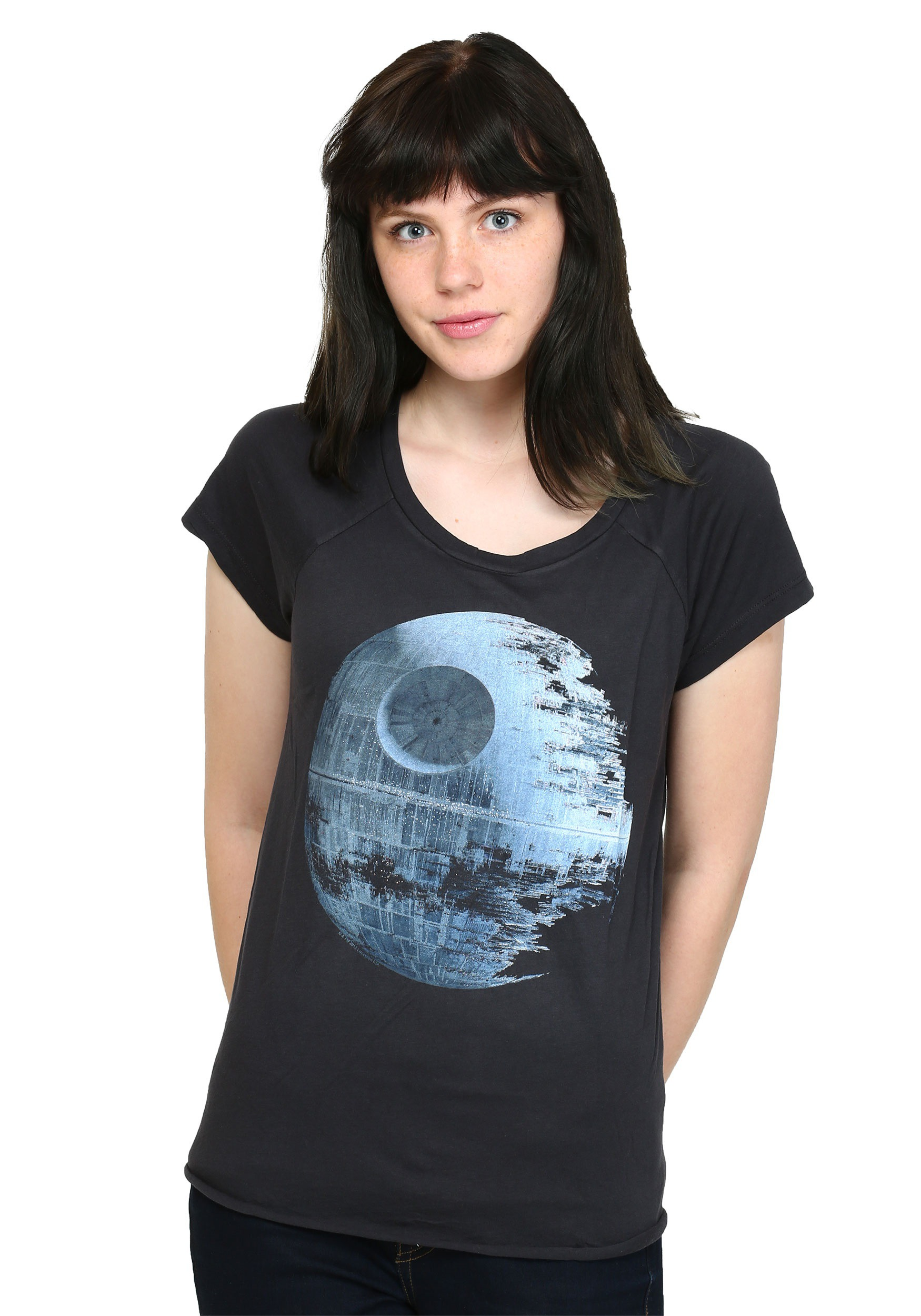 239262c44e Star Wars Death Star Juniors T-Shirt