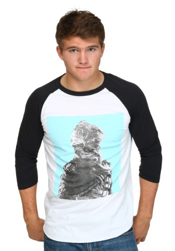 Star Wars Wind Blown Wookiee Mens Raglan