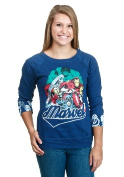Marvel Avengers Reversible Juniors Pull Over Shirt