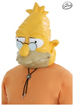 Adult Grandpa Simpson Mask