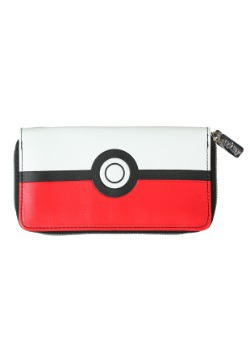Pokemon Pokeball Zip Around Wallet