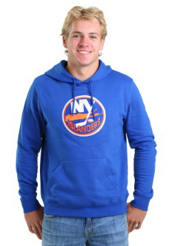 New York Islanders Felt Tek Patch Mens Hoodie