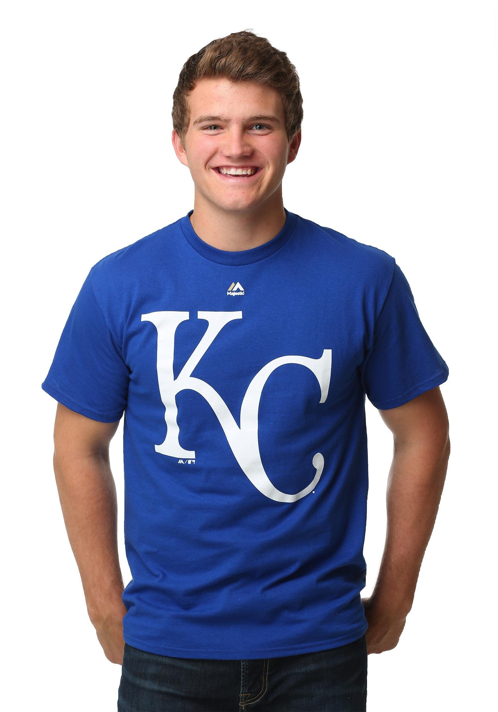 7a4e2069 Kansas City Royals Official Logo Men's T-Shirt