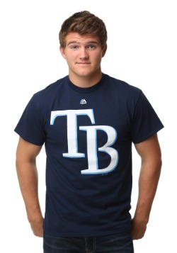Tampa Bay Rays Official Logo Men's T-Shirt