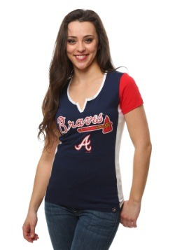 Atlanta Braves Time to Shine Womens Shirt