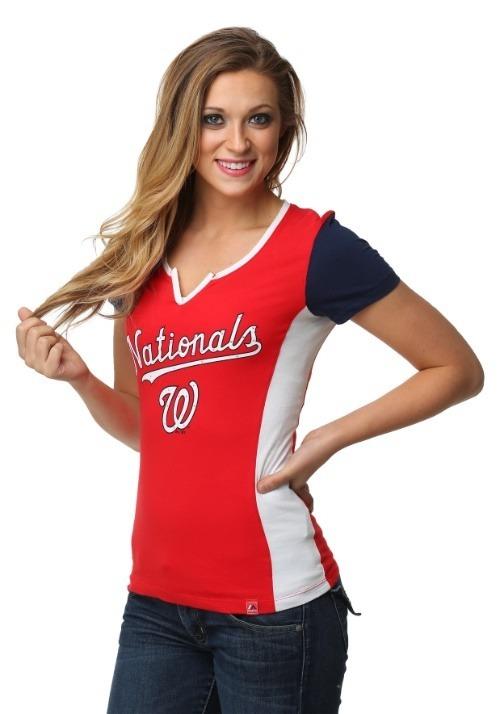 Washington Nationals Time to Shine Women's T-Shirt