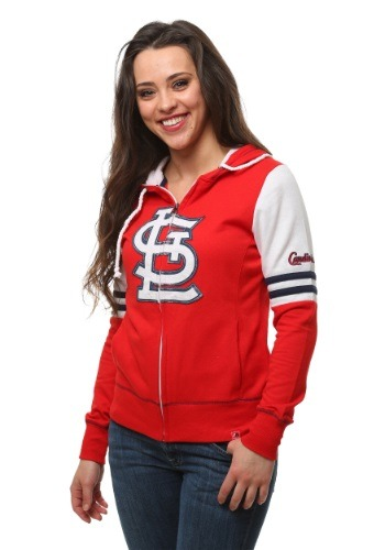 St. Louis Cardinals Big Time Attitude Womens Hoodie