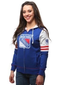 New York Rangers Big Time Attitude Womens Hoodie
