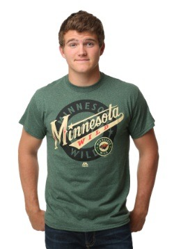 Minnesota Wild Wrist Shot Men's T-Shirt