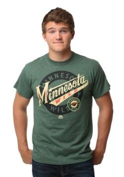 Minnesota Wild Wrist Shot Men's T-Shirt