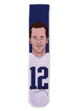 Tom Brady NFL Socks