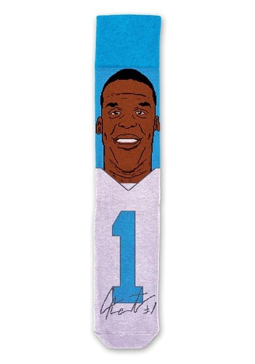 Cam Newton NFL Socks