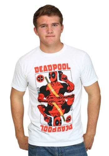 Deadpool Wild Card Men's T-Shirt
