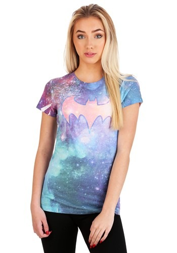 Batgirl Shielded Galaxy Juniors T-Shirt