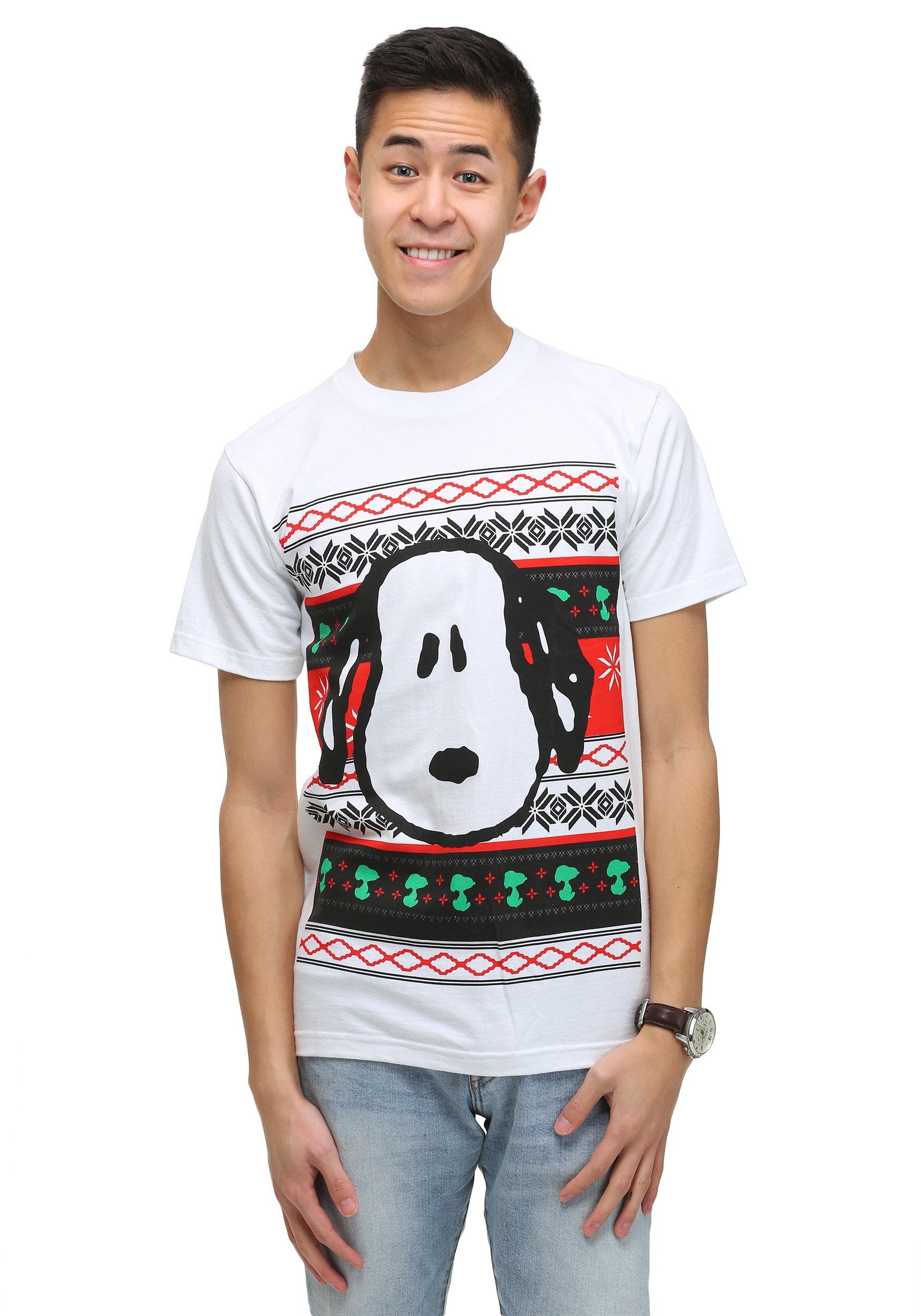 d5baf4458219 Men's Peanuts Snoopy Holiday T-Shirt