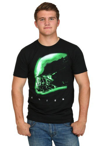Alien Profile Men's T-Shirt