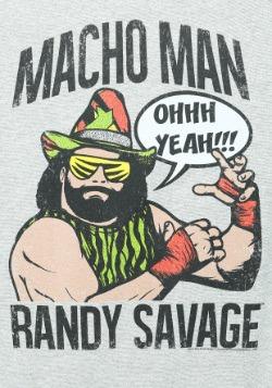 Macho Man Randy Savage Mens Raglan2