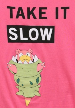 Juniors Pokemon SlowBro Long Walks T-Shirt