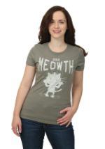Pokemon Meowth Varsity Juniors T-Shirt