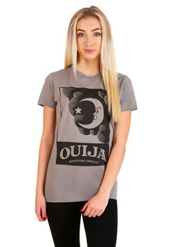 Ouija Moon Box Juniors T-Shirt