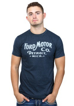 Ford Motor Co. Detroit Mens Shirt
