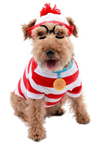 Wheres Wally Woof Dog Costume