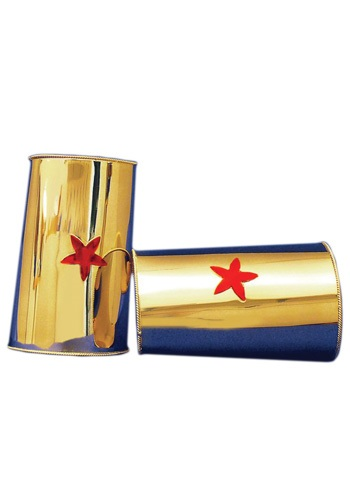 Red Star Gold Superheroine Cuffs