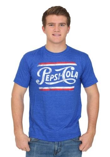 Pepsi Cola Vintage Logo Men's T-Shirt