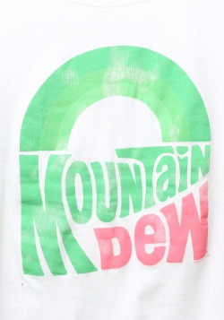 Mountain Dew Juniors Scoop Neck T-Shirt2