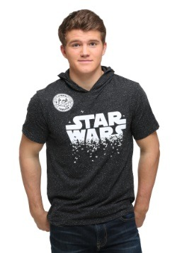 Star Wars Star Swarm Mens Shortsleeve Hooded Pullo
