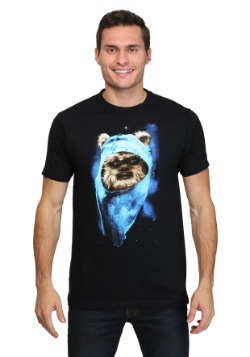 Star Wars Ewok Spaced Out Men's T-Shirt