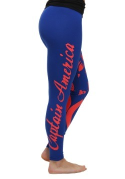 Marvel Captain America Yoga Pants for Women alt2