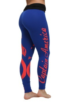 Marvel Captain America Yoga Pants for Women alt3