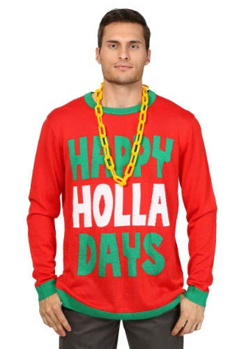 Happy Holla Days Christmas Sweater