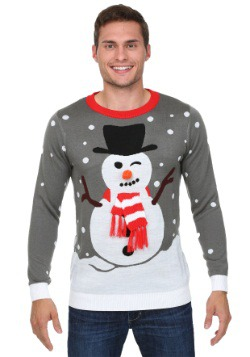 Snowman with Scarf Christmas Sweater