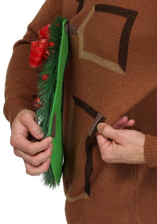 Christmas Wreath Door Sweater 2