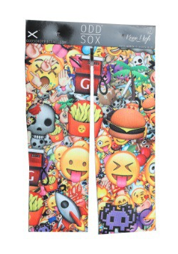 3D Emoji Knee High Odd Sox